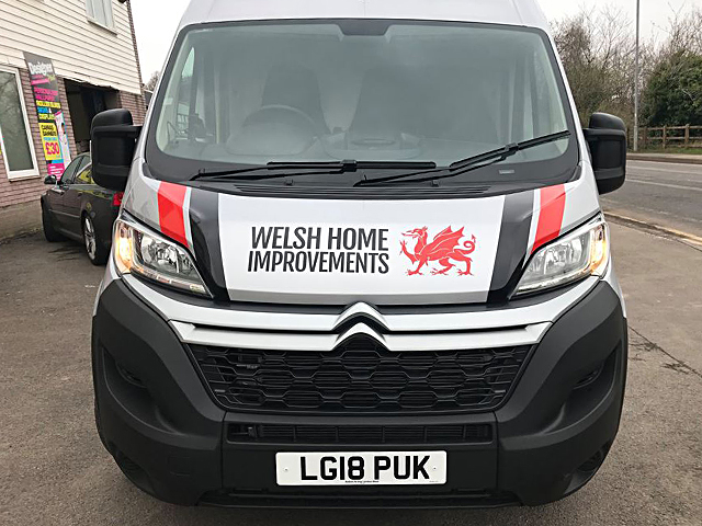 Welsh Home Improvements Vehicle Livery