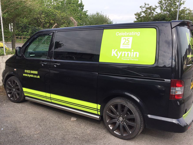 Kymin Financial Services Vehicle Livery