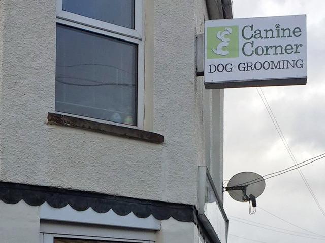Canine Corner Signage