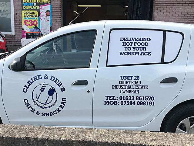 Clare & Debs Vehcile Livery