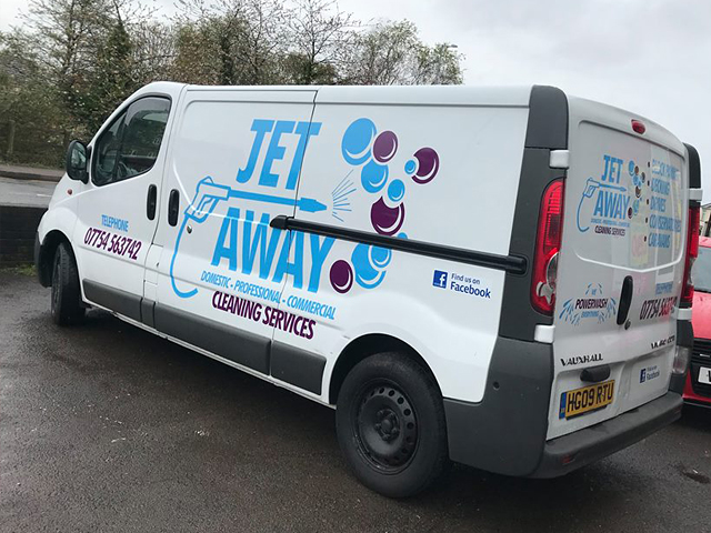 Jet Away Vehicle Livery