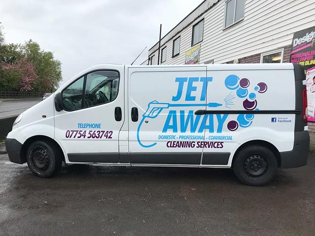Jet Away Vehicle Livery
