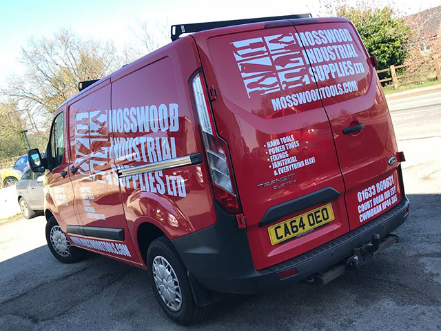 Mosswood Industrial Supplies Vehcile Livery